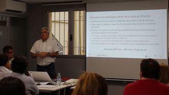 El experto Xavier Paradell, en el seminario Claves para hacer un estudio de mercado y de viabilidad económica de una residencia de mayores
