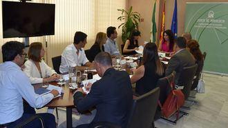 La consejera Rocío Ruiz se reúne con las empresas del servicio de ayuda a domicilio