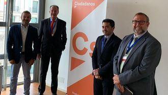 De izq. a der: Marcial Gómez (Cs), Albert Campabadal (CEDDD), Ángel Luis González (CONACEE) y Alfonso de la Lama-Noriega (CEAPs)