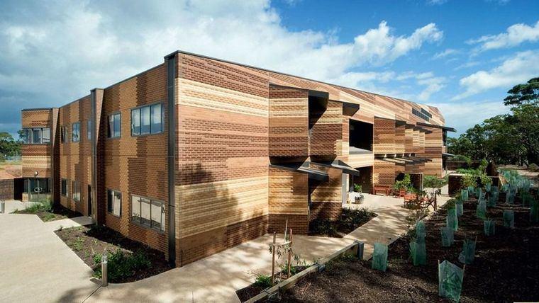 Arquitectura y residencias: Una residencia en Australia que parece de madera