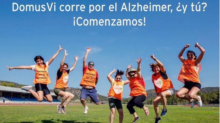 DomusVi llama a caminar en su IV edición de 'Kilómetros para recordar' contra el alzhéimer