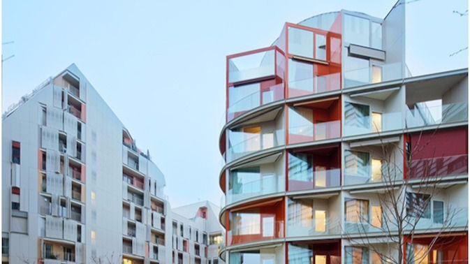 Arquitectura y residencias: Exuberancia arquitectónica en París: Orpea Les Artistes