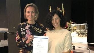 La directora general de Investigación, Docencia y Documentación, Teresa Chavarría, ha recogido esta distinción de mano de los responsables de la Asociación Europea para la Innovación en Envejecimiento Activo y Saludable.