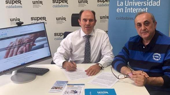 Convenio marco de colaboración entre Supercuidadores y Sprode para ayudar a los profesionales sociosanitarios