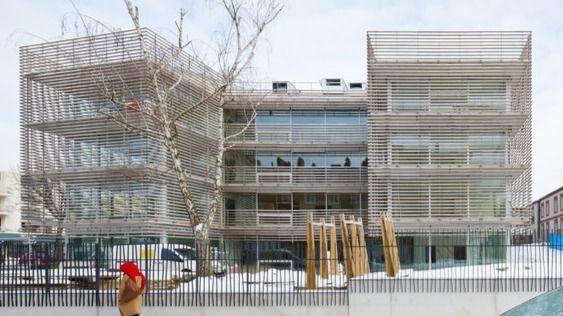 Arquitectura y residencias: Una residencia envuelta por un invernadero tropical… en París