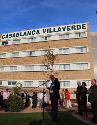 El director general del Grupo Casablanca, Ignacio Fernández Cid, inaugura el centro residencial Casablanca Villaverde.