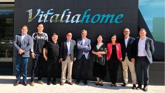 Una delegación china se ha visitado Zaragoza para conocer el modelo de gestión y de calidad del Grupo Vitalia Home.