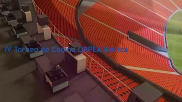El estadio de fútbol Wanda Metropolitano acogerá el IV Torneo de Cocina ORPEA