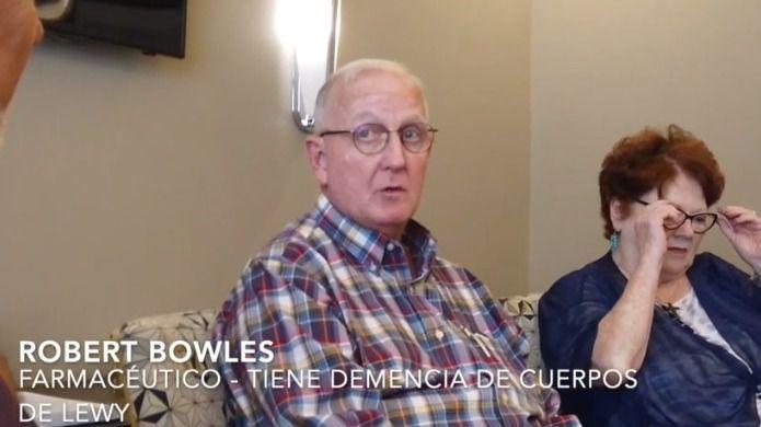 Robert Bowles, farmacéutico con demencia de cuerpos de Lewy, activista defensor de las personas con demencia