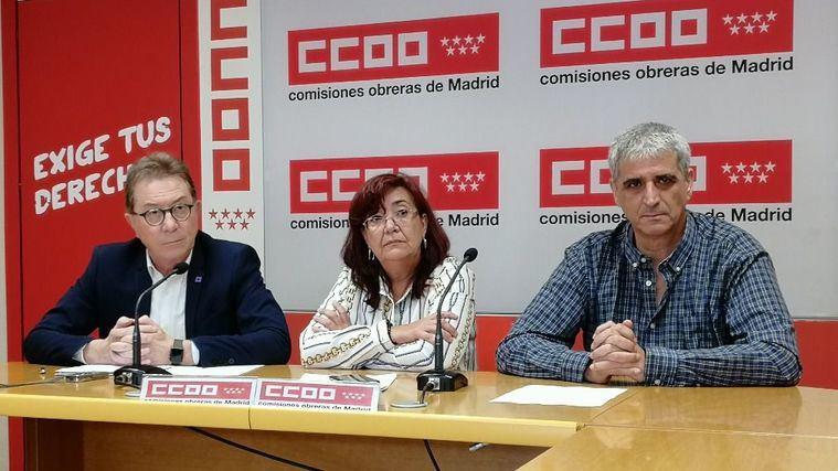 Jaime Cedrún, Rosa Cuadrado y Antonio Cabrera.