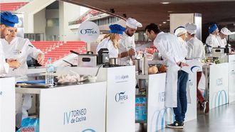 Final del IV Torneo de Cocina ORPEA.