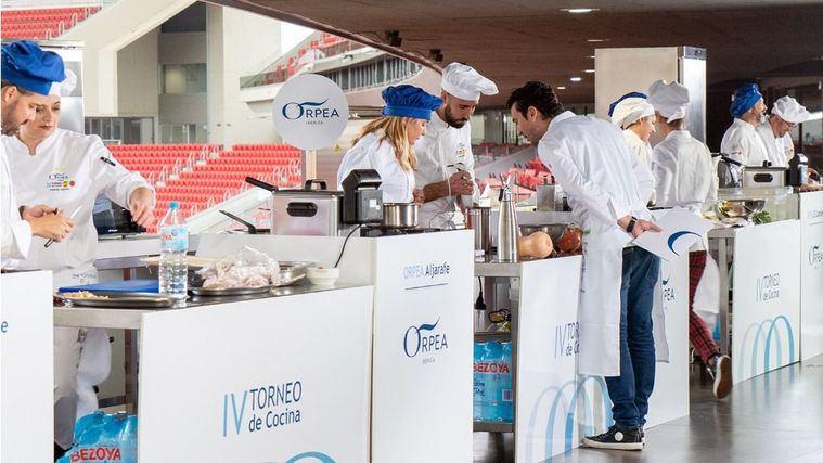 Presa al aroma de otoño, plato con el que Córdoba Sierra ha ganado el IV Torneo de Cocina ORPEA