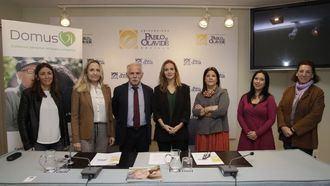 Programa de Atención Integral a Personas con Enfermedades Avanzadas, llevado a cabo por el Equipo de Atención Psicosocial (EAPS) de DomusVi.