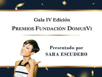 Invitación a la IV Gala de entrega de los Premios DomusVi