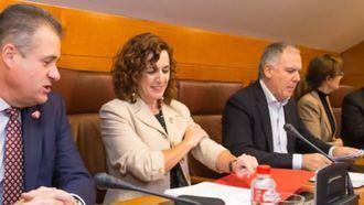 La consejera de Empleo y Políticas Sociales, Ana Belén Álvarez.