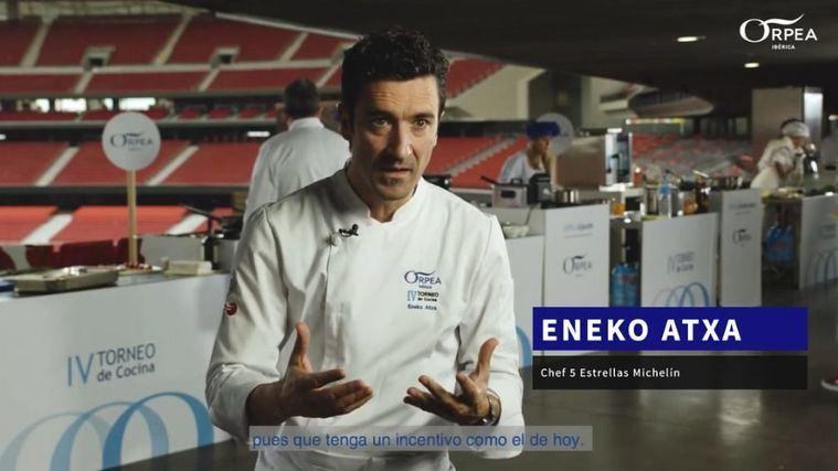 Visto en la red: El chef Eneko Atxa valora la labor de los cocineros de ORPEA