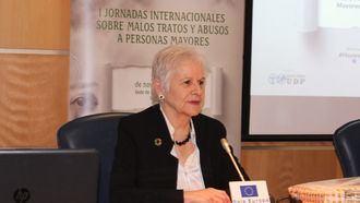 La presidenta de UDP, Paca Tricio.