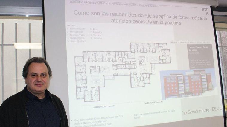 El arquitecto Marc Trepat en el Seminario de Inforesidencias Aerquitectura y ACP