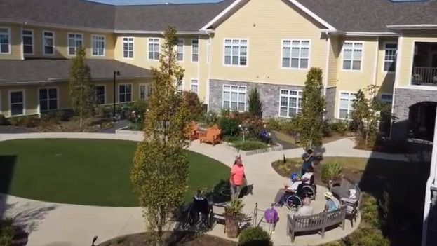 Comunidad de mayores en Park Springs, Atlanta (EEUU)