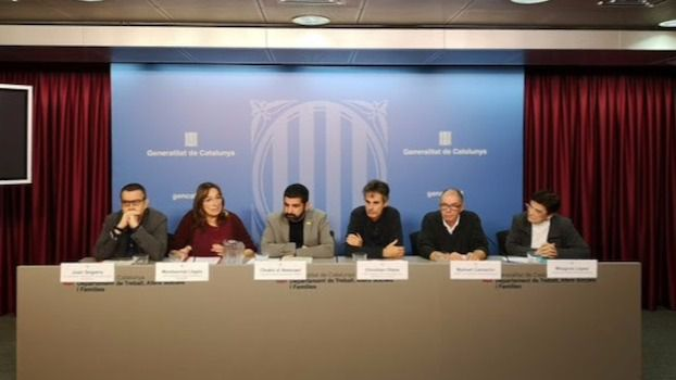 El sector de la dependencia en Cataluña reclama más financiación para mejorar los salarios