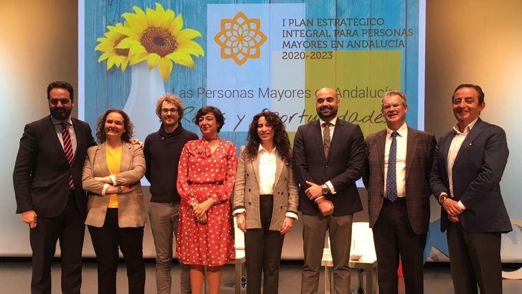 El I Plan para Mayores en Andalucía se orientará hacia la prevención, la sostenibilidad y el cuidado integral