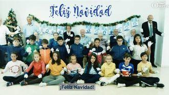 Niños y mayores, en la felicitación de Navidad de ORPEA