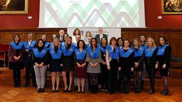 Tercera promoción de graduados en la Universidad corporativa de DomusVi