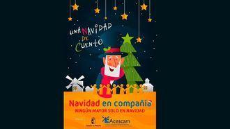 ACESCAM anima a vencer el miedo a la soledad para vivir la Navidad en compañía