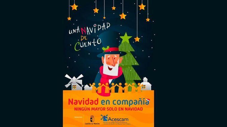 ACESCAM anima a vencer el miedo a la soledad para vivir la 'Navidad en compañía ' en sus centros