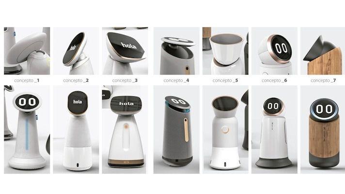 Robots NETA para la vida cotidiana de las personas mayores.
