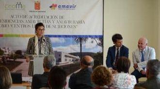 Los centros de Amavir en Lanzarote están acreditados definitivamente como libres de sujeciones.