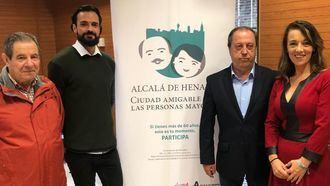 Amavir colabora en el proyecto de Ciudad amigable con las personas mayores del Ayuntamiento de Alcalá de Henares.