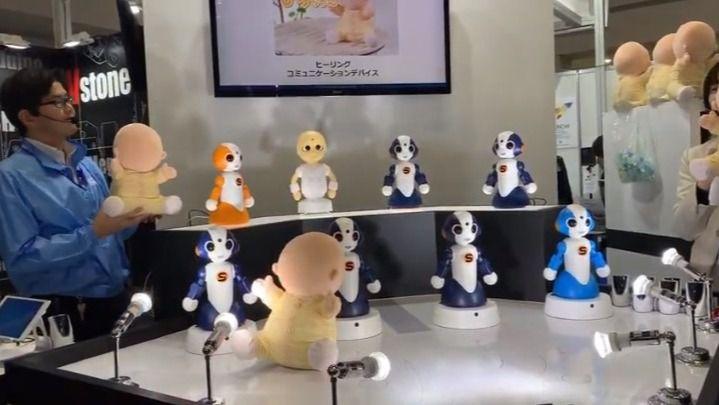 Visto en la red: Un bebé robot sin cara terapéutico para personas mayores