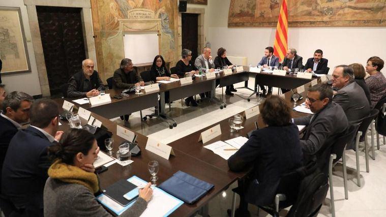 Financiación: La Mesa Unitaria reclama a la Generalitat unos presupuestos en clave social