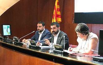 El conseller de Treball, Afers Socials i Famílies, Chakir el Homrani