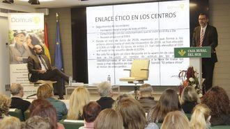 DomusVi organiza una jornada en torno a las cuestiones éticas que implica la atención de calidad a las personas vulnerables.