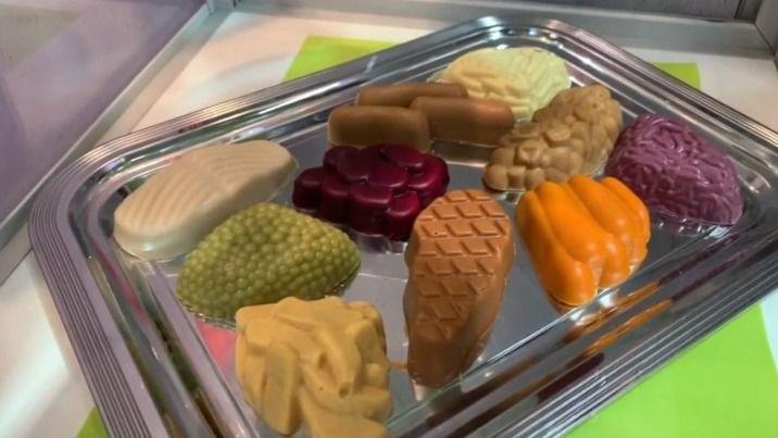 Canal Inforesidencias.com: Comida texturizada con la forma de lo que te comes en la feria Altenpflege 2019