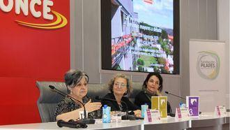 Pilar Rodríguez en una jornadas sobre viviendas alternativas para personas mayores.