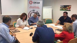 Una reunión de CECUA.