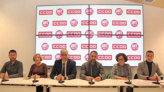 CCOO y UGT anuncian movilizaciones en el sector de la Dependencia.