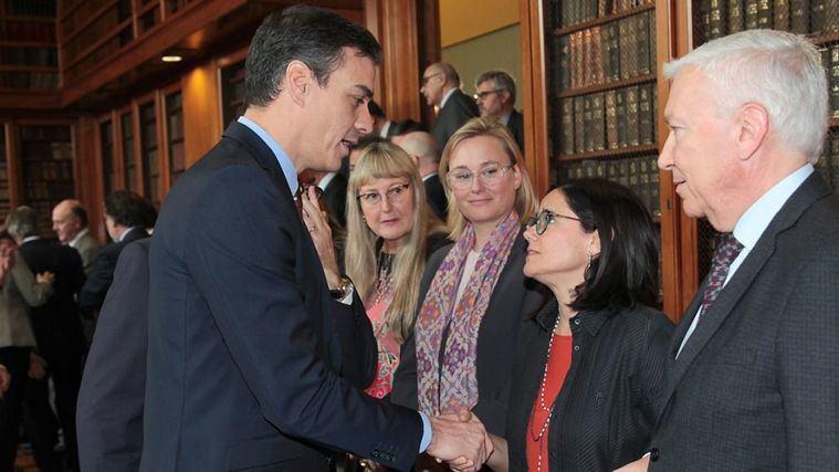Cinta Pascual traslada a Pedro Sánchez la realidad del sector de la Dependencia