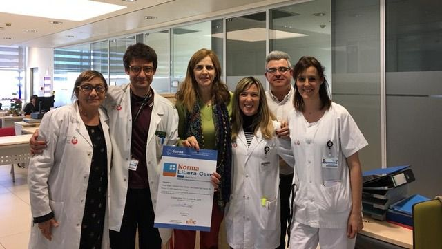 El Hospital Sant Joan de Déu, primer centro de Salud Mental con el certificado Libera-Dignos