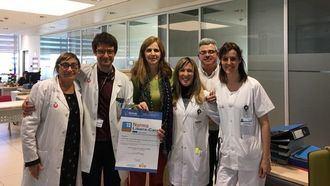 La Unidad de Agudos y Subagudos de Salud Mental del Parc  Sanitari Sant Joan De Deu de Barcelona, primer centro para  personas con problemas de Salud Mental en recibir el certificado  Libera-Dignos.