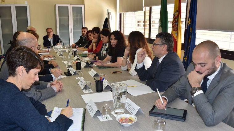 Rocío Ruiz inicia con la Mesa del Tercer Sector la ronda de contactos de su propuesta para un Pacto de Estado por la dependencia.