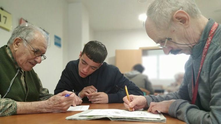 Amavir Alcalá de Henares participa en el programa intergeneracional