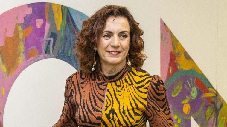 La consejera de Empleo y Políticas Sociales de Cantabria, Ana Belén Álvarez.