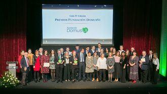 Galardonados en los Premios DomusVi 2019