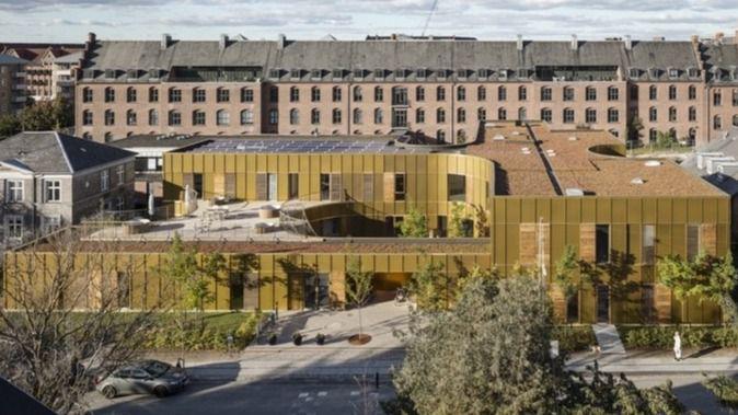 Arquitectura y Residencias: Un centro para residentes terminales (Hospice) en un ambiente urbano