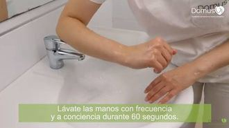 Recomendaciones de los profesionales de DomusVi para evitar la propagación del coronavirus.