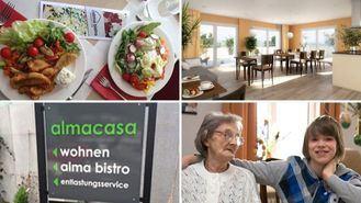 Residencia en Suiza bajo el concepto de Atención Centrada en la Persona Almacasa